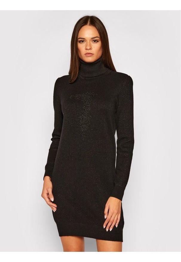 Czarna sukienka Trussardi Jeans