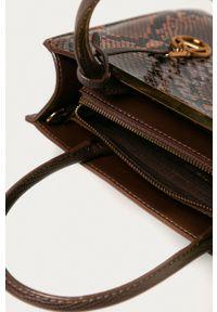Aldo - Torebka. Kolor: brązowy. Rodzaj torebki: na ramię