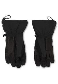 Czarne rękawiczki salomon