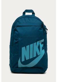 Turkusowy plecak Nike Sportswear z nadrukiem