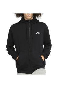 Nike - NIKE NSW CLUB HOODIE FZ > BV2645-010. Typ kołnierza: kaptur. Materiał: bawełna, poliester, materiał