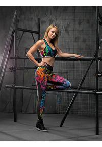 Zielony biustonosz sportowy FJ! na fitness i siłownię