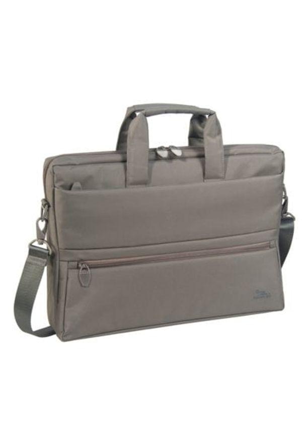 Beżowa torba na laptopa RIVACASE elegancka