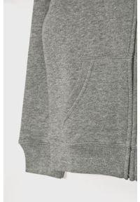Szara bluza rozpinana Polo Ralph Lauren melanż, casualowa