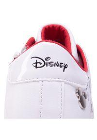 Białe półbuty Mickey&Friends z cholewką, na rzepy #7