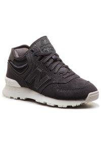 Szare buty sportowe New Balance z cholewką, New Balance 574