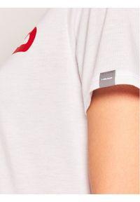 Biały t-shirt Head #5