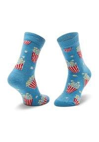 Niebieskie skarpetki Happy-Socks