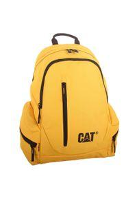 Żółty plecak CATerpillar