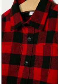 Czerwona koszula GAP casualowa, długa, na co dzień