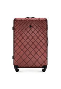 Czerwona walizka Wittchen