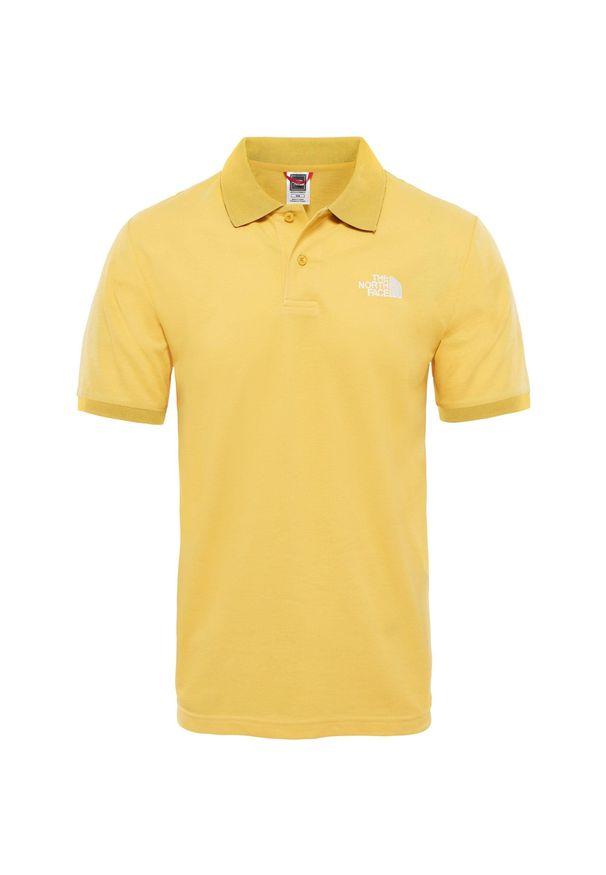 Żółta koszulka sportowa The North Face polo