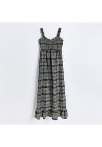 Reserved - Sukienka w kratę - Wielobarwny