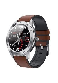 Brązowy zegarek GARETT smartwatch #1
