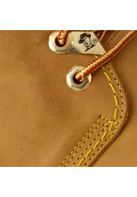 Brązowe trapery Panama Jack vintage, z cholewką