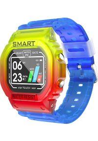 Smartwatch Kumi U2 Niebieski (U2M). Rodzaj zegarka: smartwatch. Kolor: niebieski