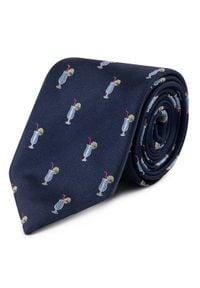 JOOP! - Joop! Krawat 30019989 Granatowy. Kolor: niebieski