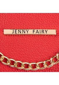 Czerwona torebka Jenny Fairy w kolorowe wzory