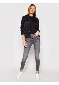 Calvin Klein Jeans Jeansy J20J216299 Szary Super Skinny Fit. Kolor: szary