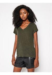 Zielony t-shirt Lee