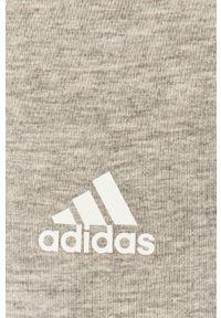 Adidas - adidas - Legginsy. Kolor: szary. Materiał: dzianina. Wzór: gładki #4