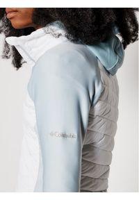 Biała kurtka przejściowa columbia