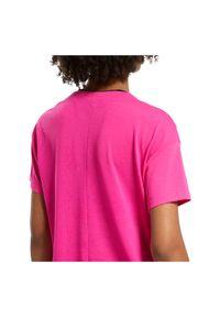 Koszulka sportowa damska Reebok Workout Ready FU2315. Materiał: materiał, dzianina, skóra, poliester, wiskoza. Wzór: gładki. Sport: fitness