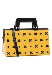 Żółta torebka klasyczna melissa klasyczna
