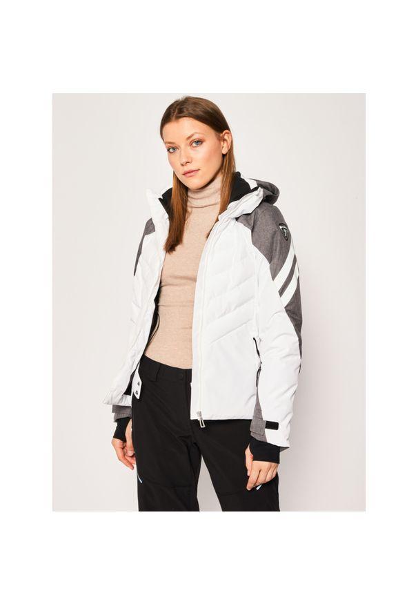 Biała kurtka narciarska Rossignol