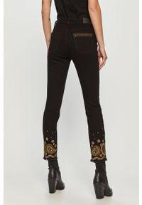 Czarne jeansy Desigual gładkie