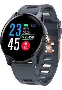Niebieski zegarek Roneberg smartwatch
