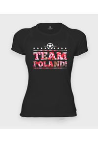 MegaKoszulki - Koszulka damska sportowa Team Poland. Materiał: poliester