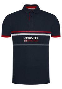 Musto Polo Amalfi 82017 Granatowy Regular Fit. Typ kołnierza: polo. Kolor: niebieski #3