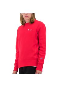 Champion Crewneck Sweatshirt > 213603-RS017. Materiał: polar, bawełna. Długość rękawa: długi rękaw. Długość: długie. Wzór: aplikacja. Styl: klasyczny