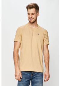 T-shirt Champion na co dzień, casualowy, z aplikacjami