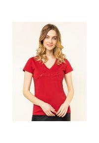 Czerwony t-shirt Liu Jo