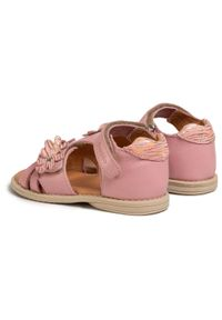 Różowe sandały Froddo z aplikacjami, na co dzień, casualowe #6