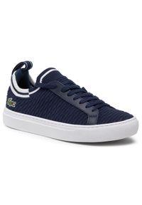 Lacoste - Sneakersy LACOSTE - La Piquee 0721 1 Cma 7-41CMA0033092 Nvy/Wht. Okazja: na co dzień. Kolor: niebieski. Materiał: materiał. Szerokość cholewki: normalna. Styl: casual, klasyczny
