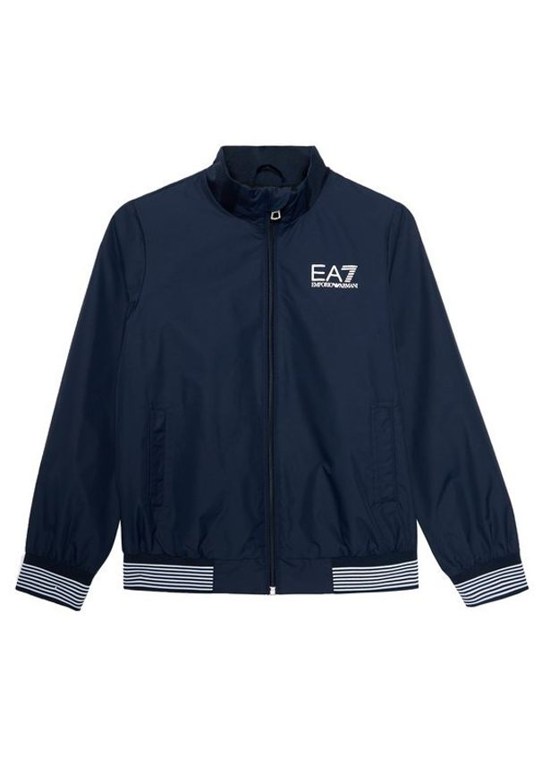 EA7 Emporio Armani Kurtka przejściowa 3KBB02 BN27Z 1554 Granatowy Regular Fit. Kolor: niebieski