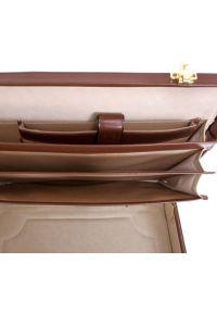 Neseser na laptopa MCKLEIN Daley 80434 Brązowy. Kolor: brązowy. Materiał: skóra. Wzór: aplikacja. Styl: klasyczny, retro #5