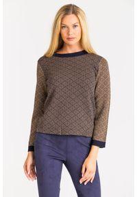 Sweter Weekend Max Mara z długim rękawem, krótki
