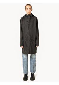 Czarna kurtka przeciwdeszczowa Rains #5