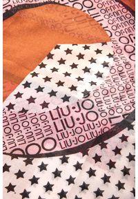 Chusta Liu Jo w kolorowe wzory, na lato