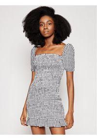 Guess Sukienka codzienna Aida W1GK0Y WDV70 Czarny Slim Fit. Okazja: na co dzień. Kolor: czarny. Typ sukienki: proste. Styl: casual
