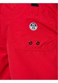 North Sails Szorty kąpielowe Volley 673434 Czerwony Regular Fit. Kolor: czerwony