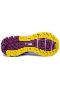 Fioletowe buty do biegania columbia z cholewką, na co dzień