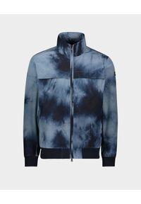PAUL & SHARK - Niebieska kurtka z ukrytym kapturem. Okazja: na co dzień. Kolor: niebieski. Materiał: jeans, tkanina, bawełna. Styl: sportowy, wakacyjny, casual