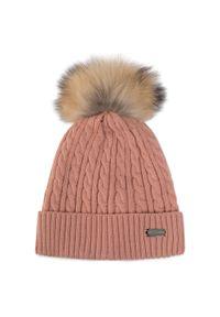 Różowa czapka zimowa Wittchen