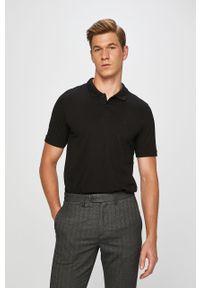 Czarna koszulka polo Jack & Jones krótka, casualowa