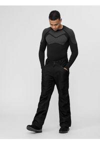 4f - Spodnie narciarskie męskie. Kolor: czarny. Materiał: materiał. Sezon: zima. Sport: narciarstwo